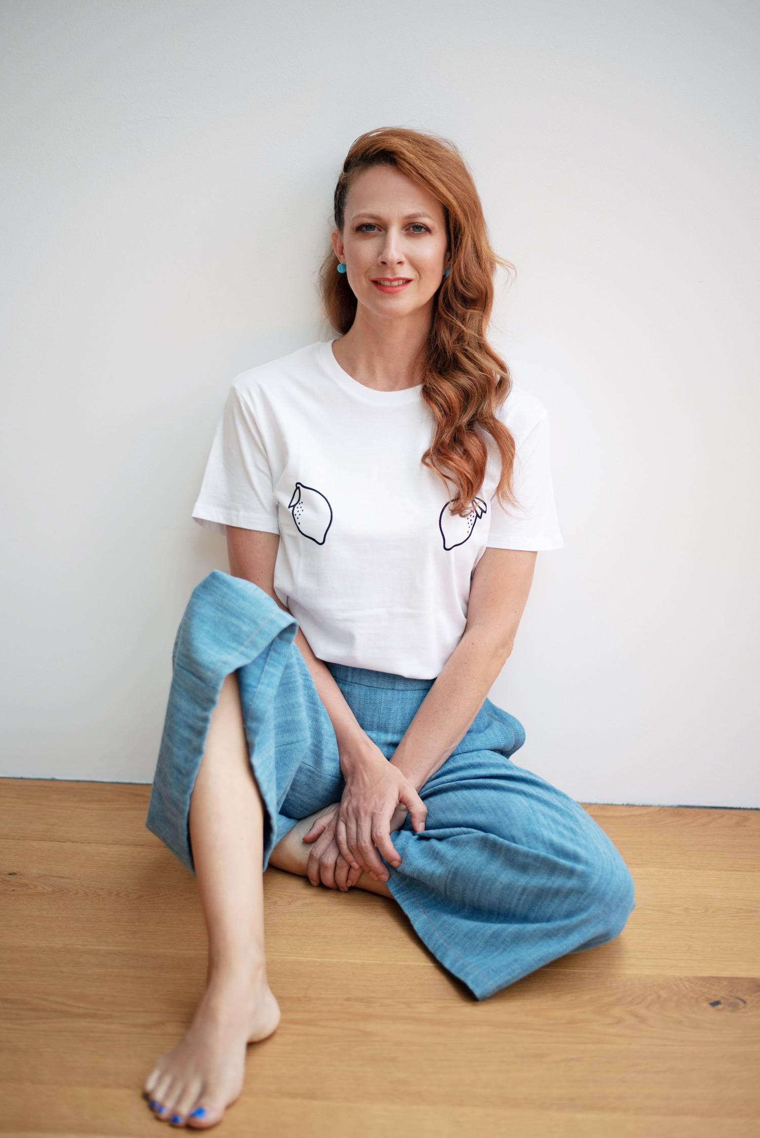 sustainable trajnostno majica eko bombaz nina stanic nika veger modni bloger beautyfullblog