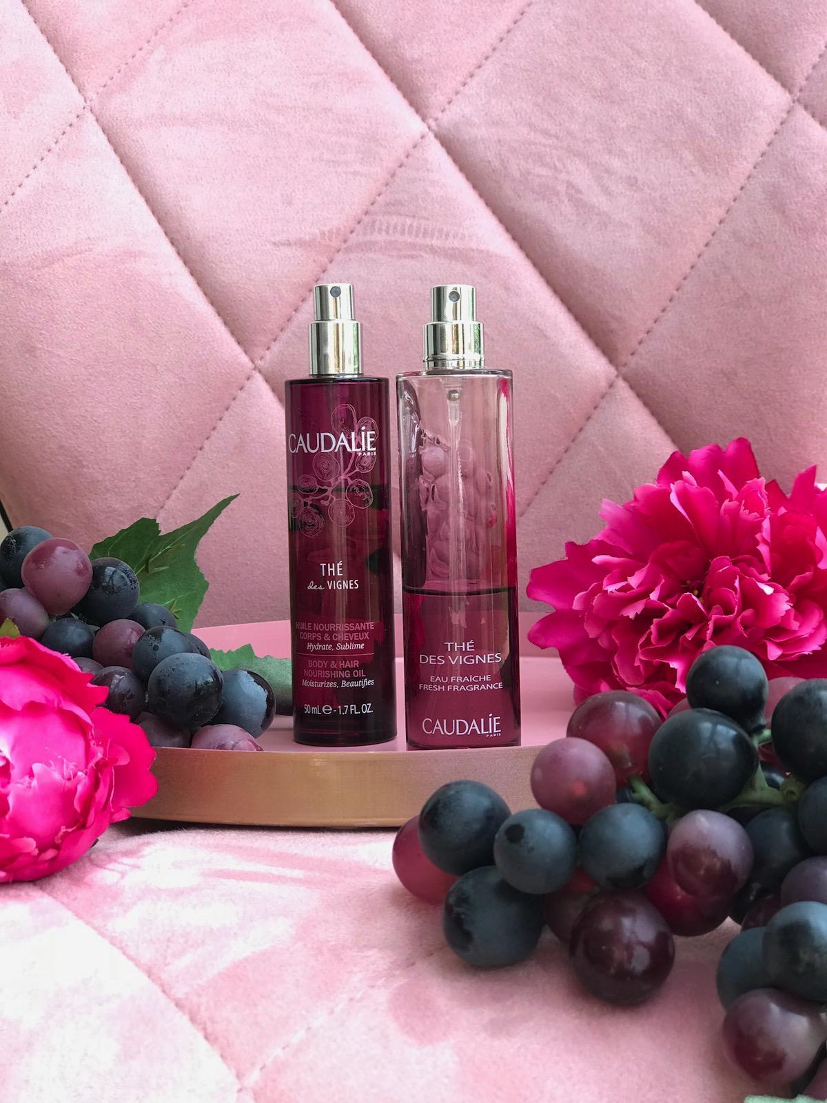 Caudalie The Des Vignes parfum disava EDT beautyfullblog olje