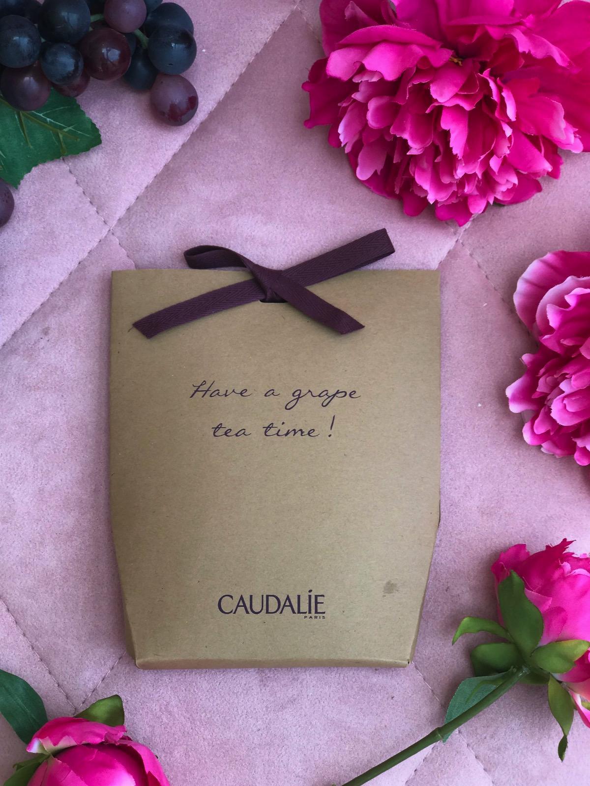 Caudalie The Des Vignes parfum disava EDT beautyfullblog čaj