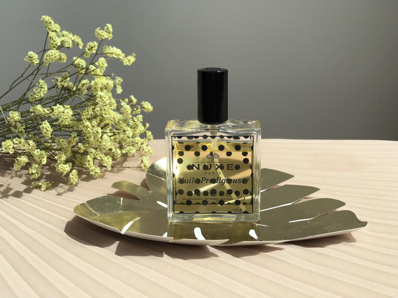 čudežno suho olje telo nuxe huile prodigiouse