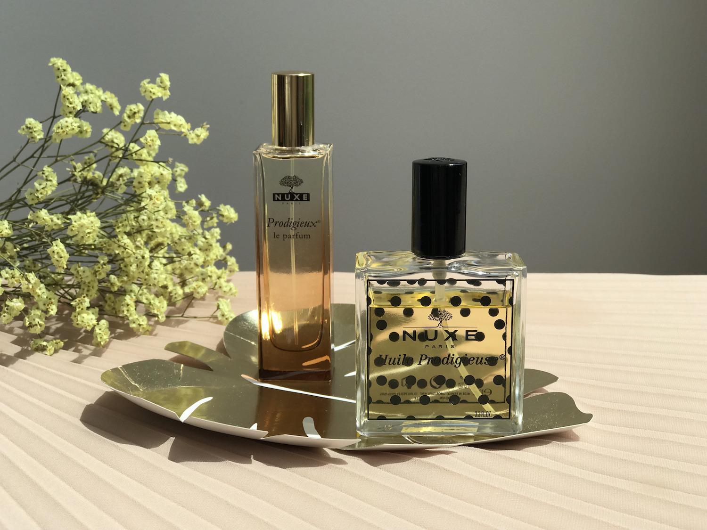 nuxe parfumska voda huile prodigiouse olje telo suho primerjava melvita
