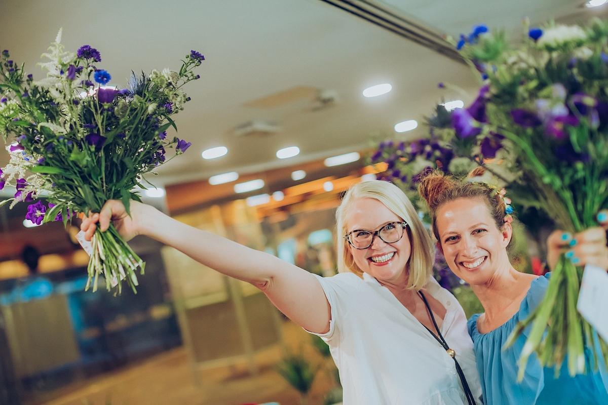 gardenia delavnica šopkov cvetlično druženje