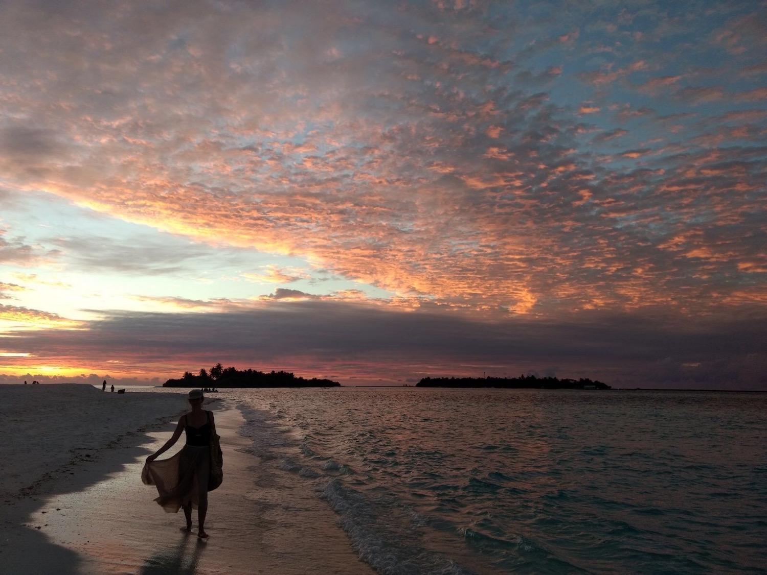 Sun Island Resort Maldives sunset