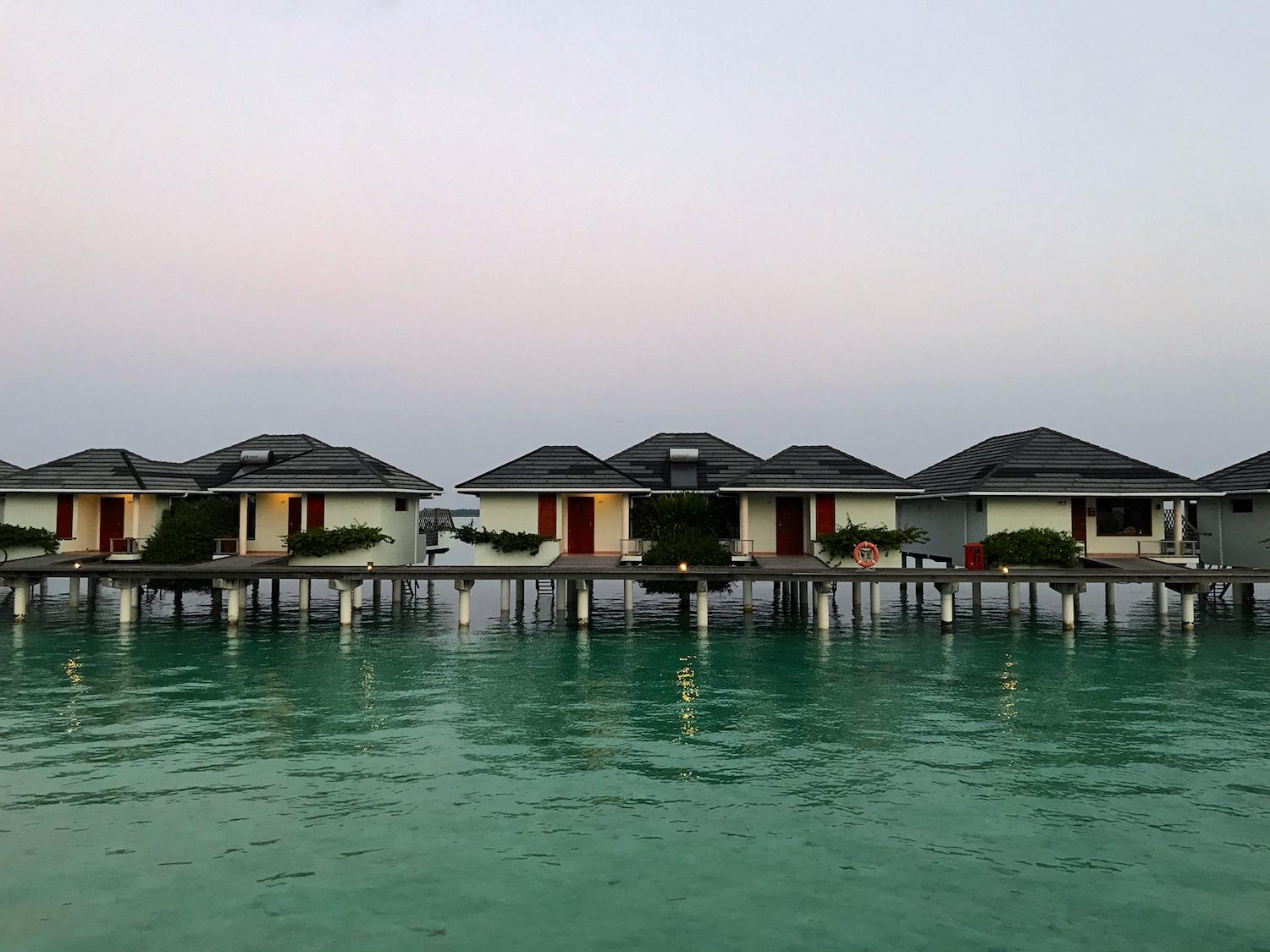 Sun Island Resort Maldives water bungalows