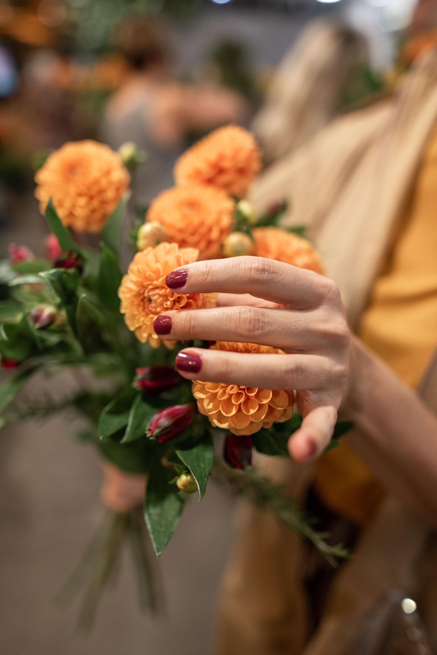 cvetlicno druzenje gardenia roze nika veger beautyfull blog