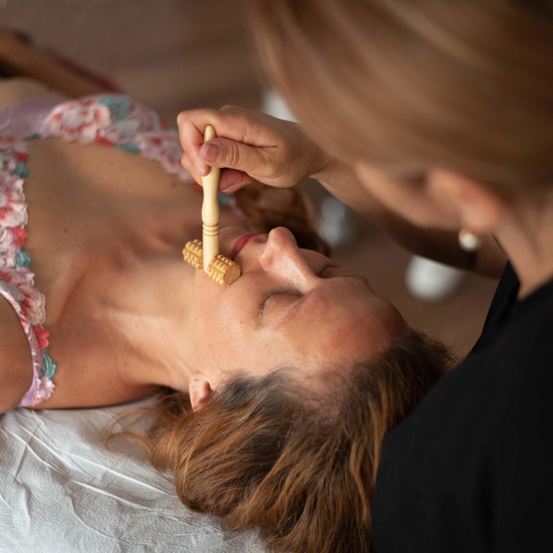 maderoterapija obraz leseni valjcki lavida nika veger beautyfull blog