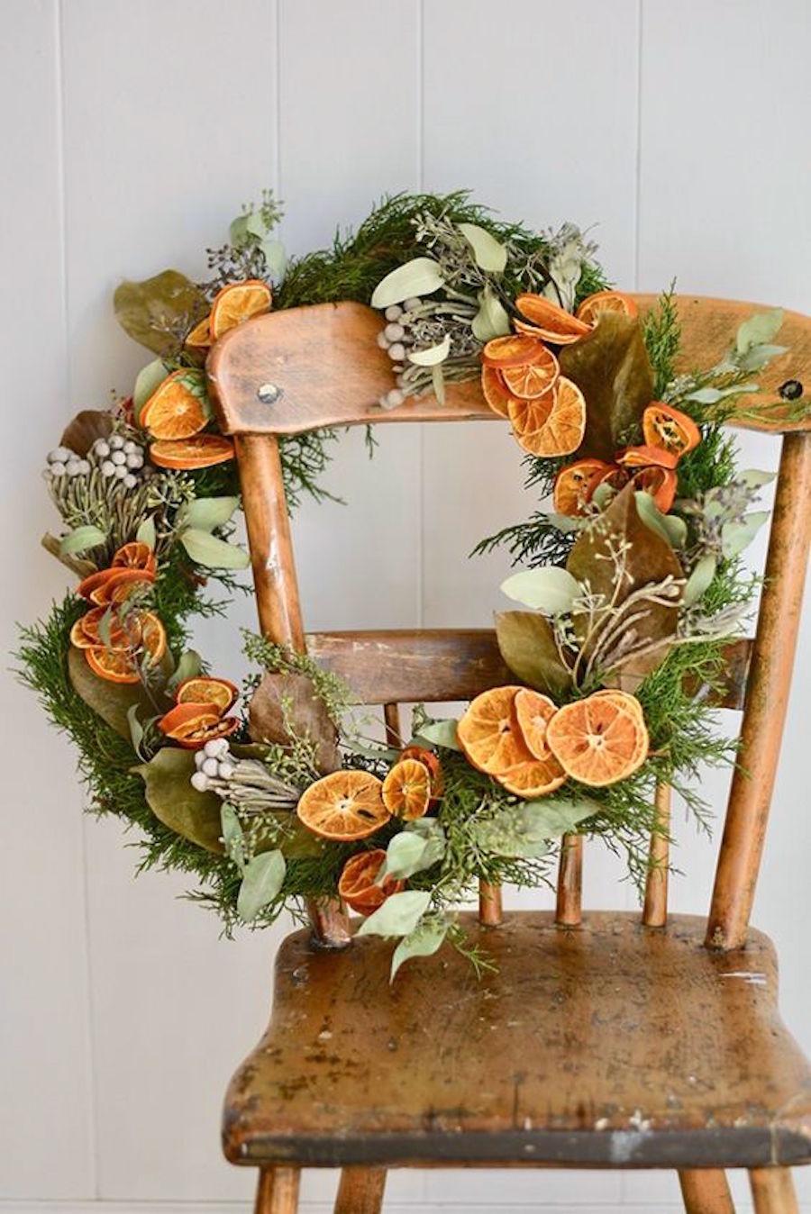 citrusi bozicni vencek Beautyfullblog