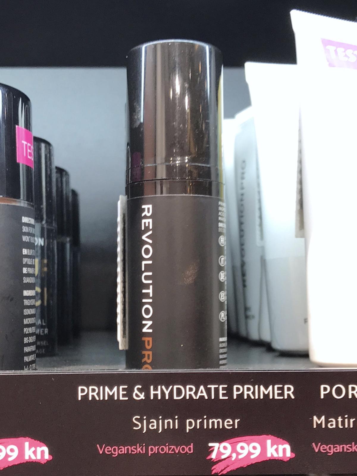 Pink Panda licila Lana spital beautyfull blog Revolution Pro Prime & Hydrate Primer