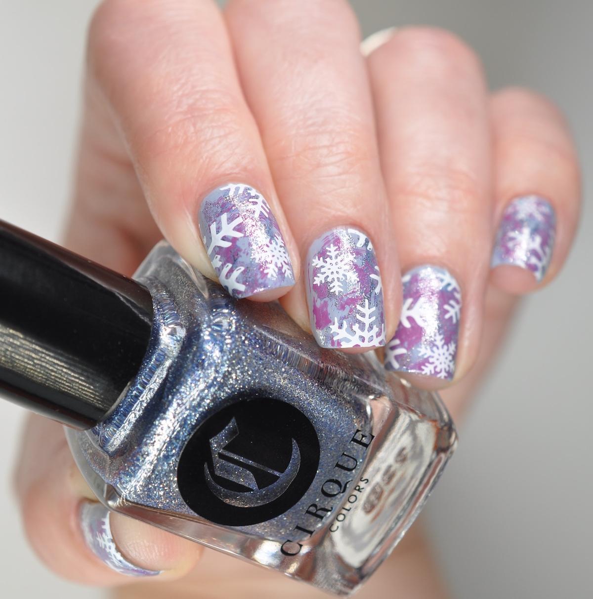 praznicno licenje frizura beautyfull blog manikira vijolicna lacqueredbits
