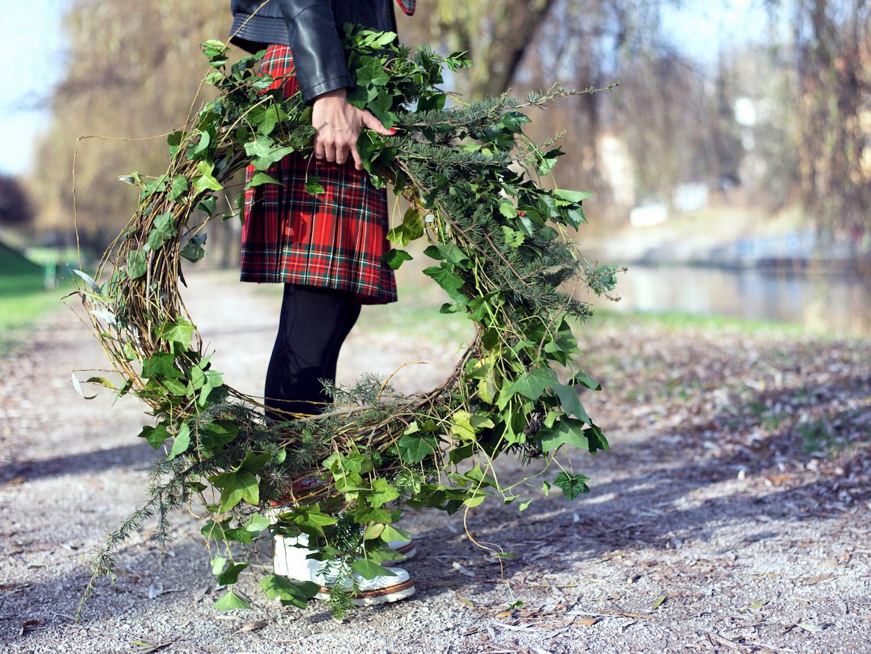 trajnostna slovenska moda karo gardenia beautyfull blog trajnostna slovenska moda gardenia beautyfull blog adventni vencek zelen