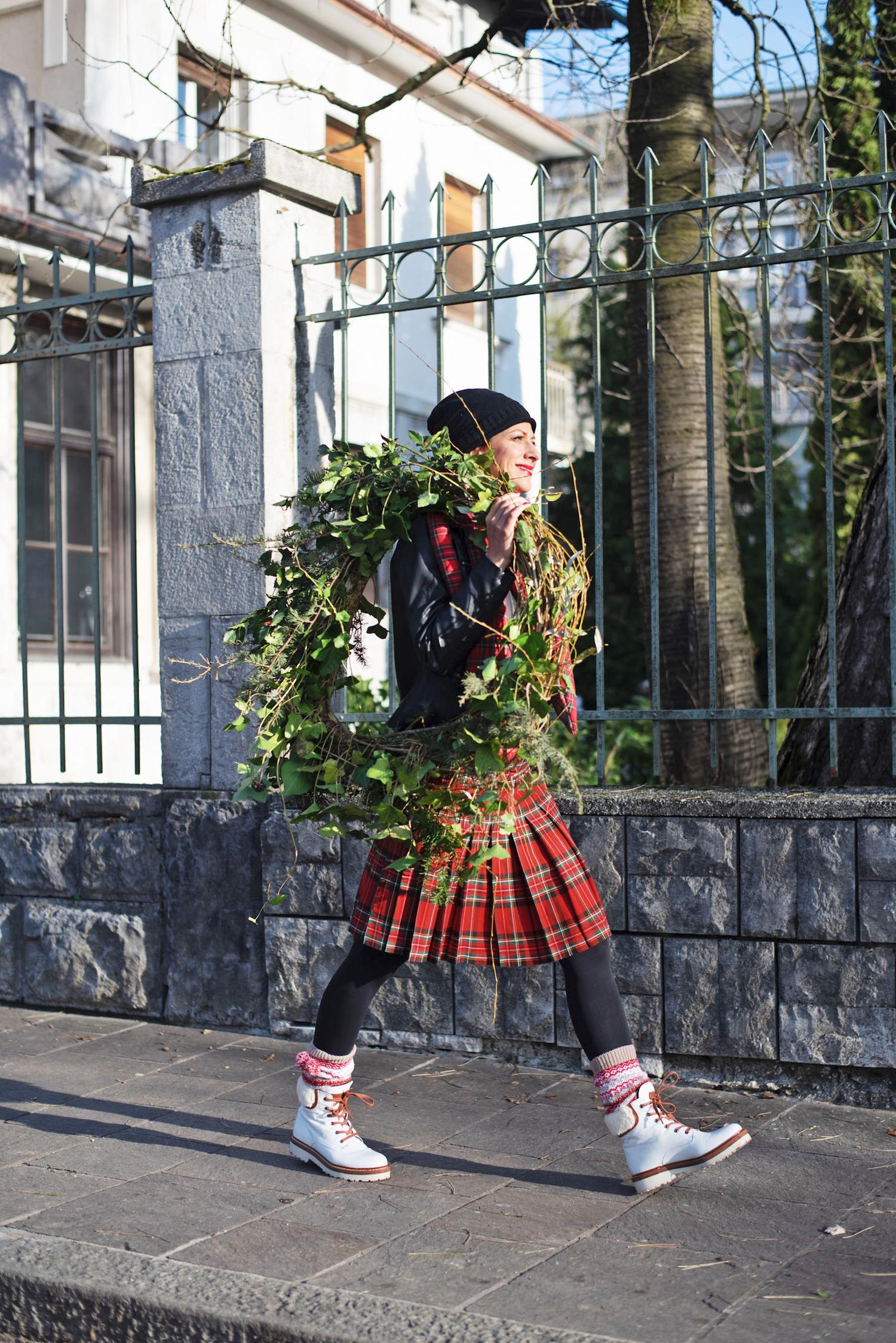 trajnostna slovenska moda karo gardenia beautyfull blog trajnostna slovenska moda gardenia beautyfull blog nika veger adventni vencek