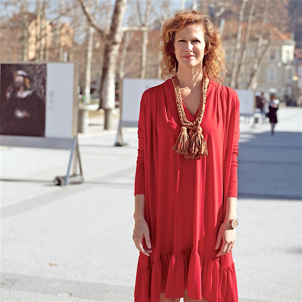Najlepsa obleka trajnostno beautyfullblog nika veger maja stamol