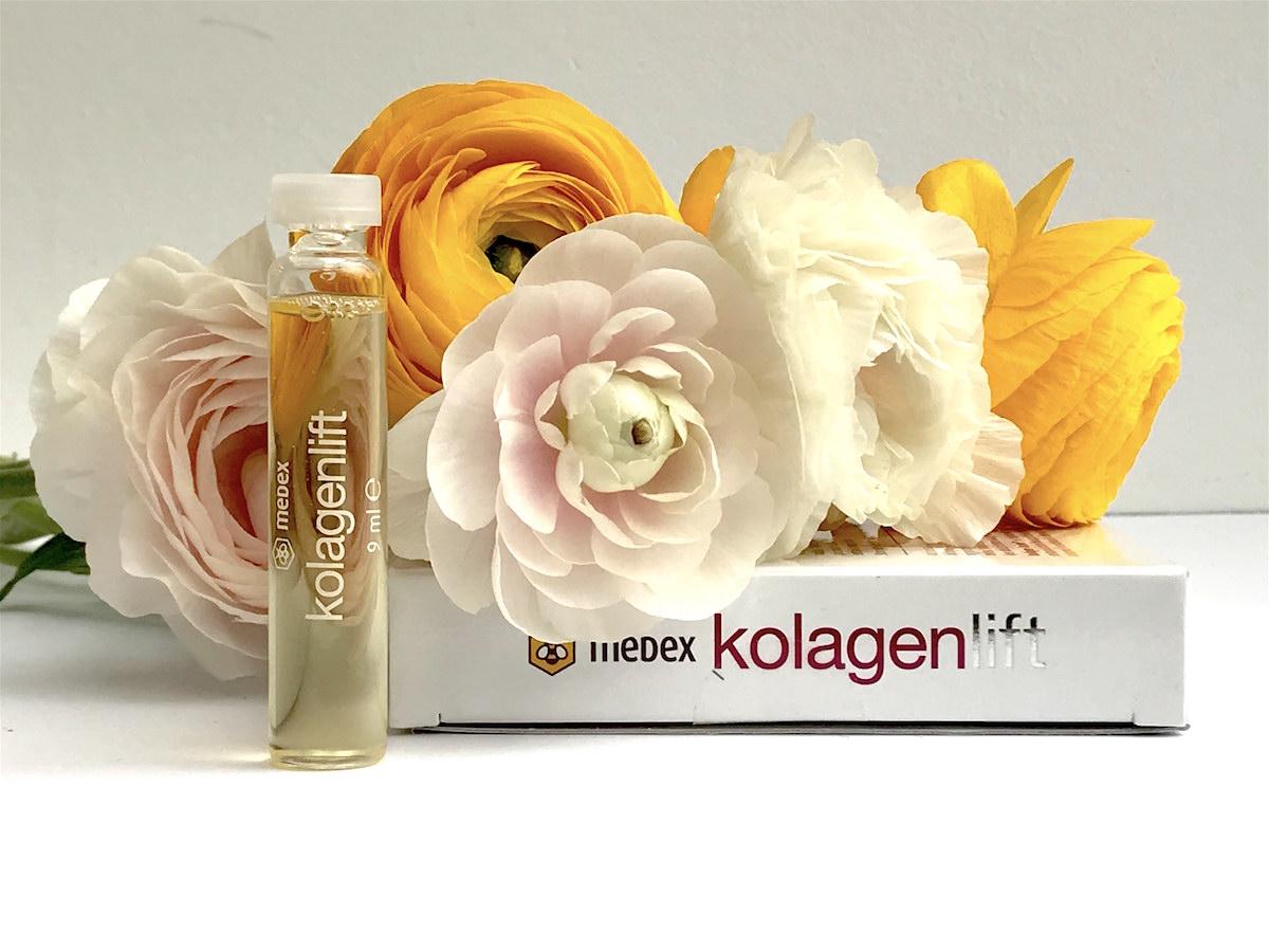 medex kolagen beautyfullblog verisol kolagenlift fiole
