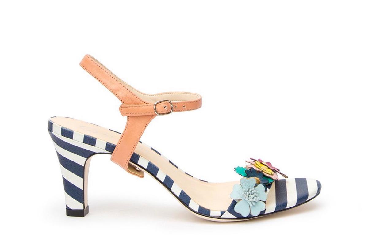 koralna beautyfull blog Jackie-Blush_Striped_Floral_Open_Toe