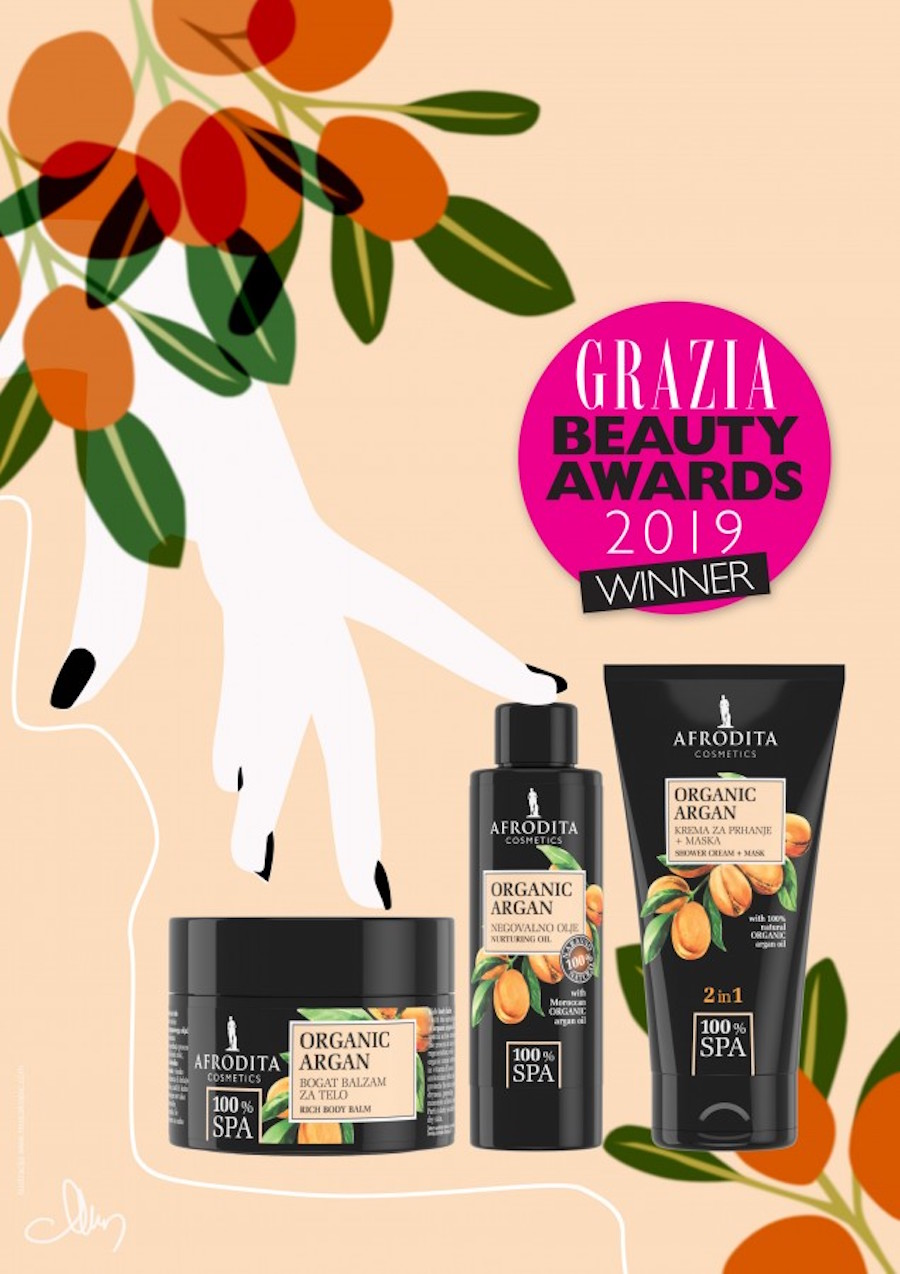 Grazia Beauty Awards beautyfull blog Kozmetika Afrodita