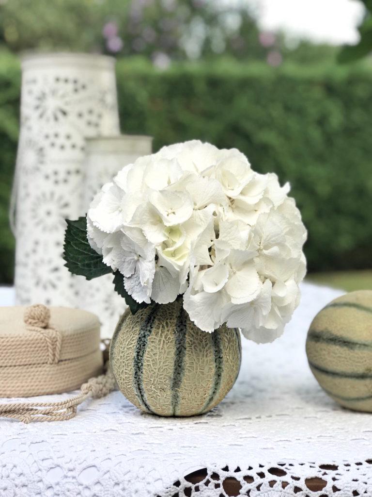 cvetlicarna gardenia diy sopek beautyfull blog vaza melona