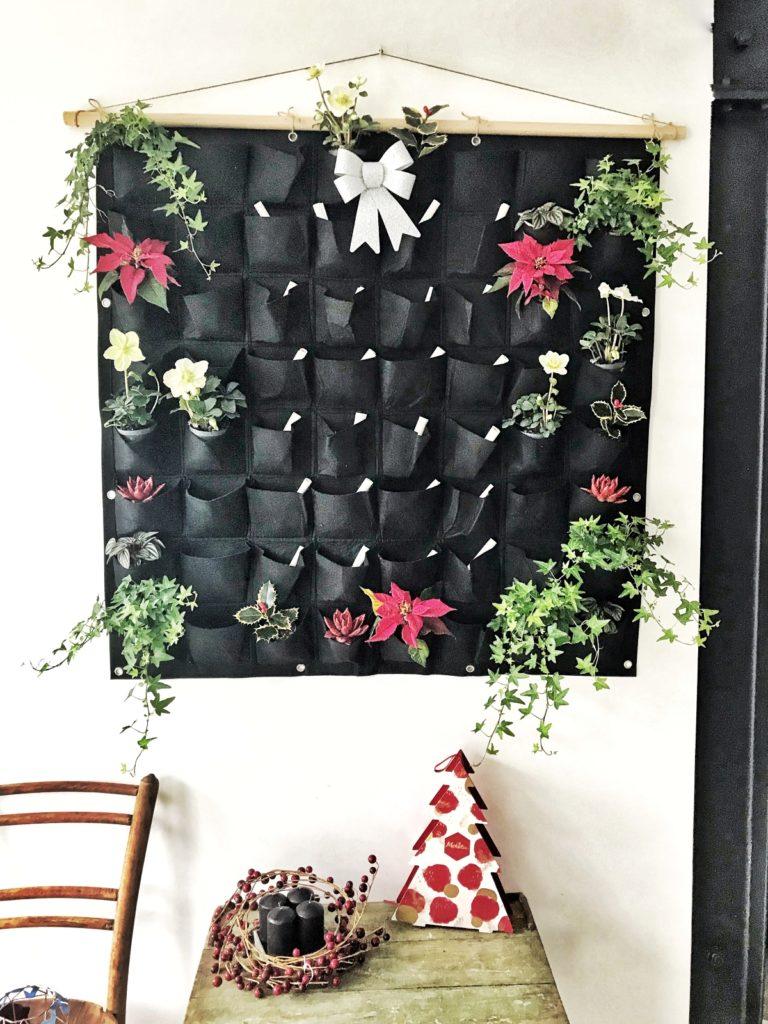 DIY naredi sam adventni koledar lončnice rože ideje kaj dati beautyfullblog