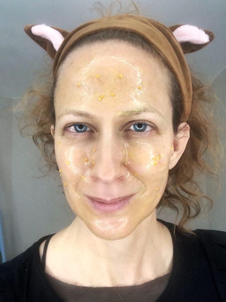 nika veger domača maska za obraz medex cvetni prah beautyfull blog