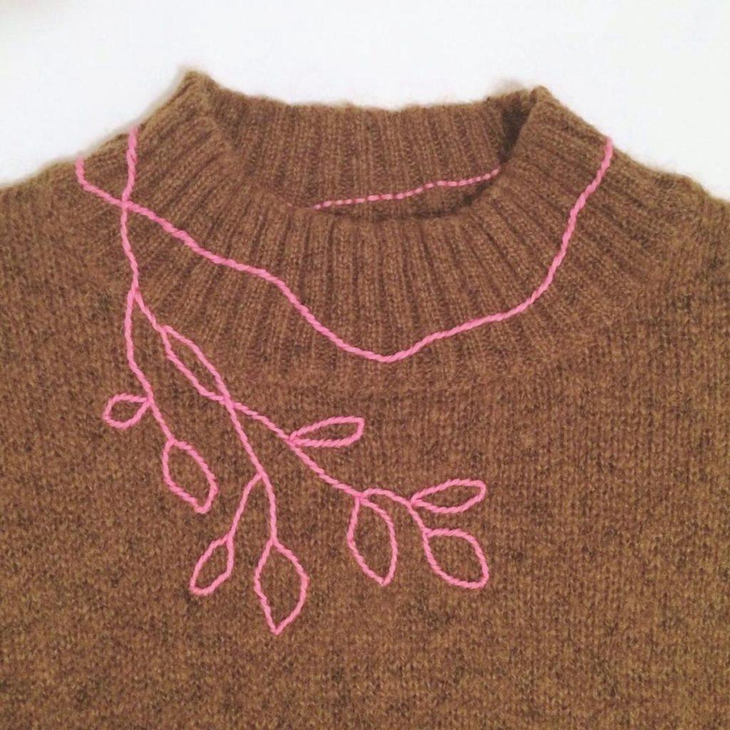 second hand pulover nina irgolic eko bio trajnostno zivljenski stil
