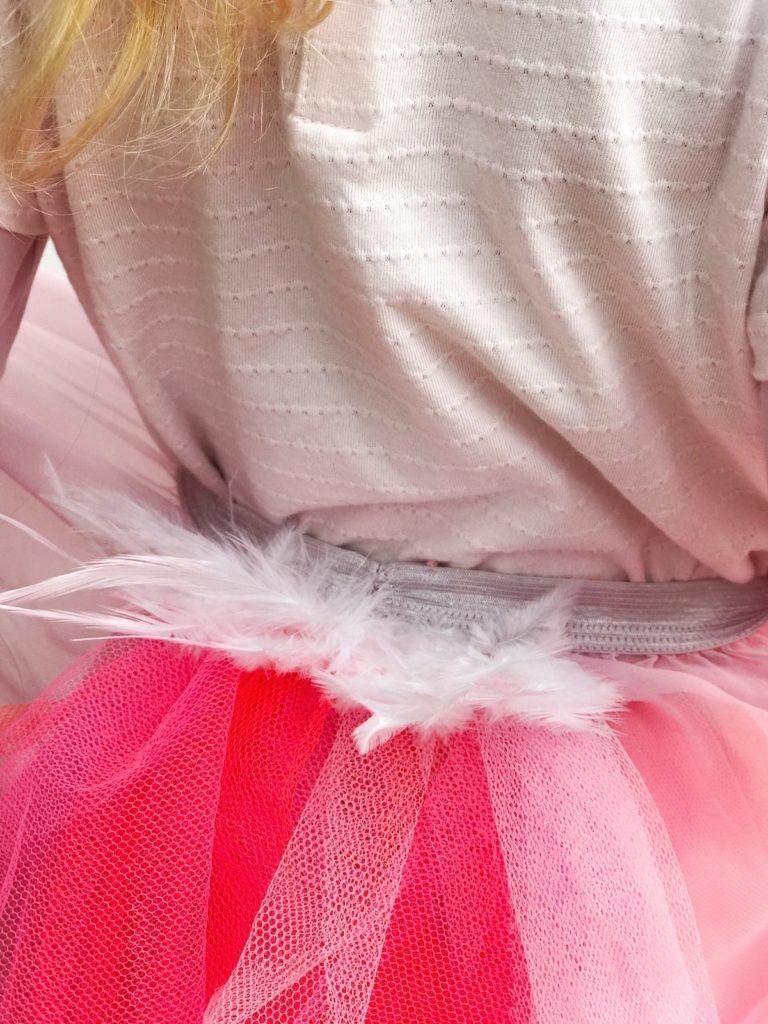 pustni kostum DIY flamingo otroški beautyfull blog nika veger plamenec