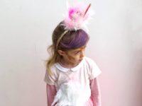 pustni kostum DIY flamingo otroški beautyfull blog nika veger naredi sam