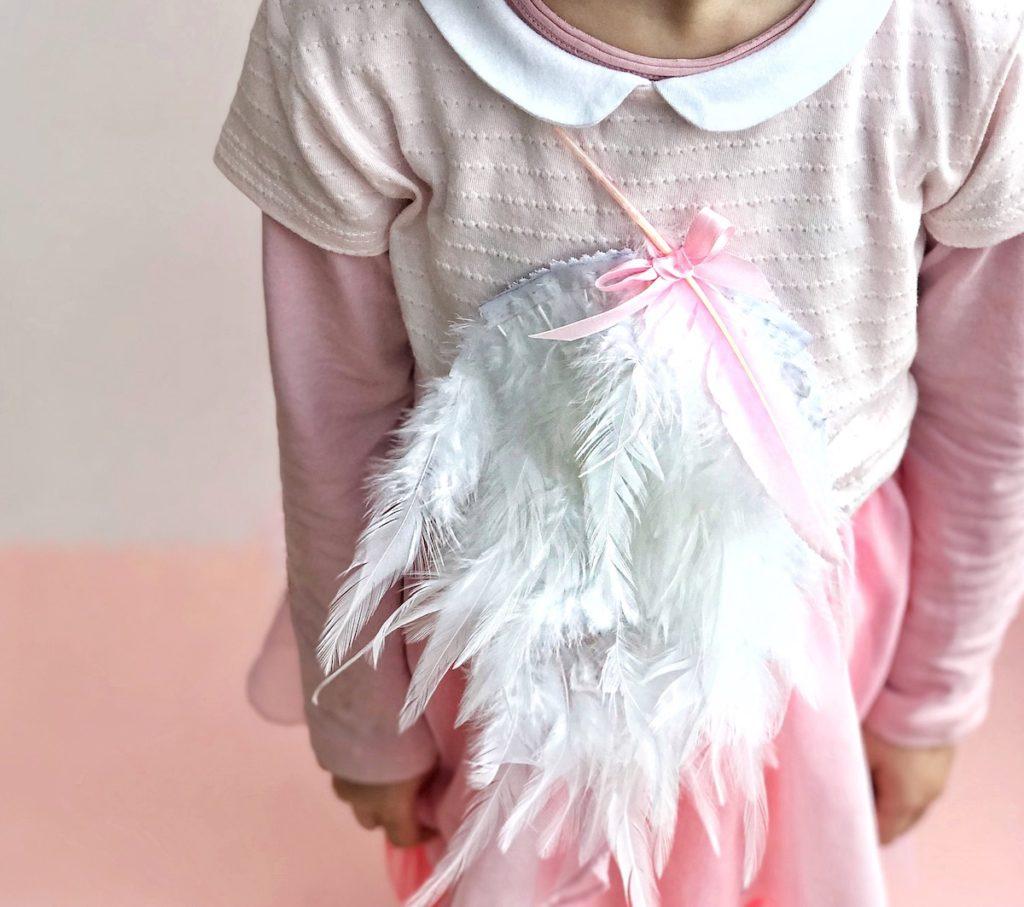 pustni kostum DIY flamingo otroški beautyfull blog nika veger otrok naredi sam