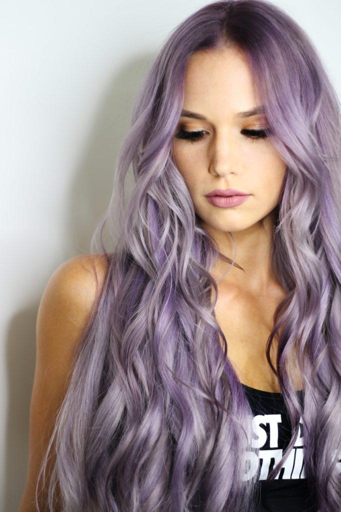 vijoličasta vijola kozmetika nika veger beautyfull blog lasje