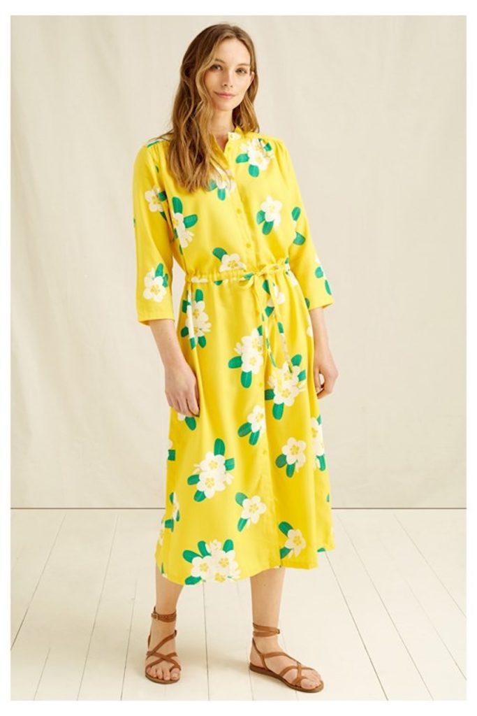 najlepše pomladne eko trajnostne obleke peoplee tree
