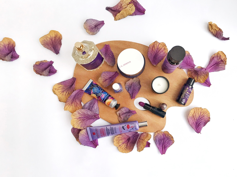 vijoličasta kozmetika vijola beautyfull blog