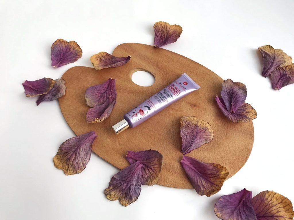 vijoličasta vijola kozmetika nika veger beautyfull blog erborian cc dull corect rumena polt