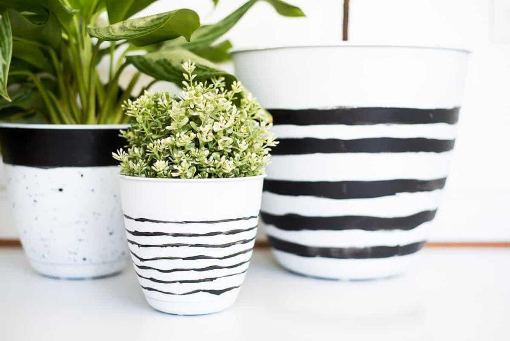 DIY pobarvaj lonec rože beautyfull blog