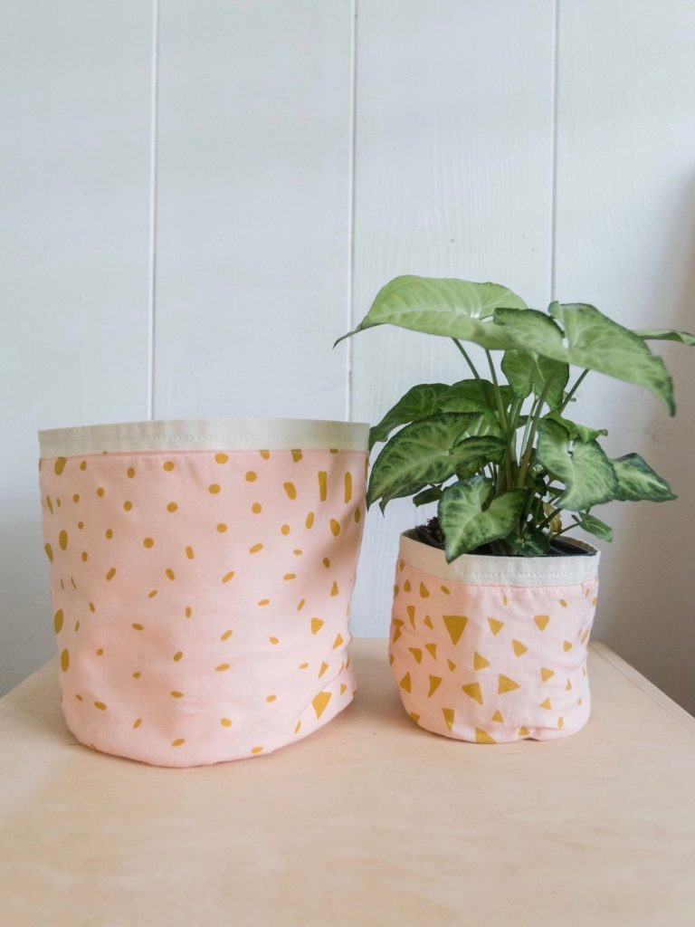 DIY moderni lonci  rože beautyfull blog