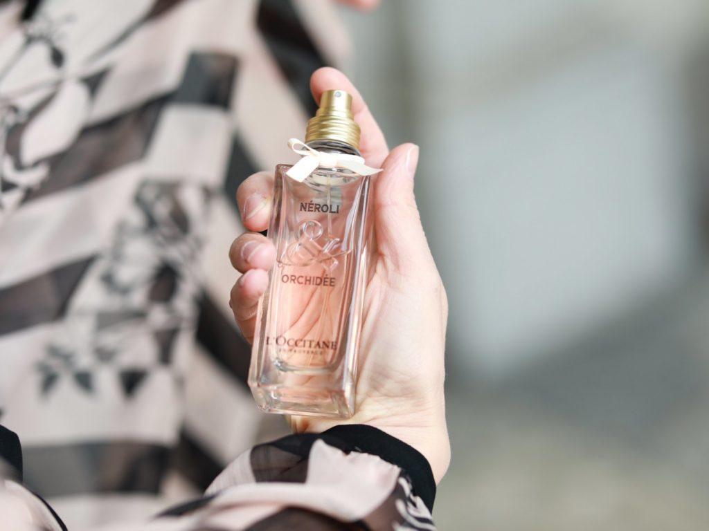 parfum neroli eau de toilette loccitane orchidee nika veger beautyfull blog