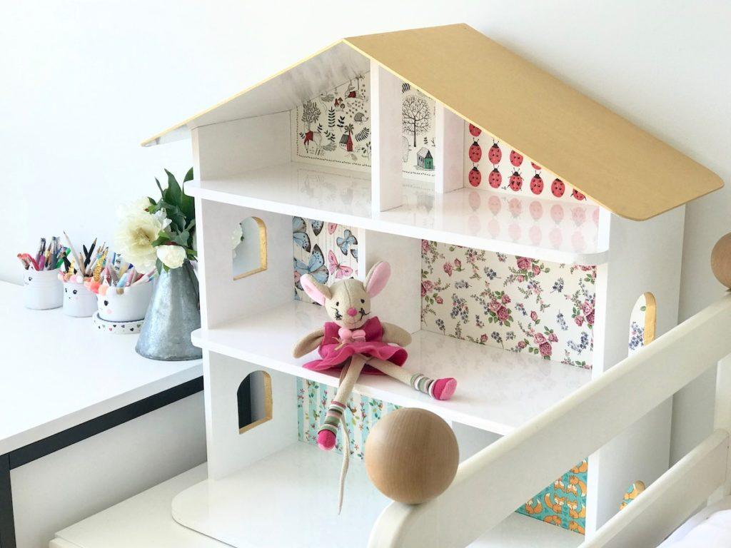 trajnostno eko spremembe navade nika veger beautyfull blog DIY hišica za punčke Ikea