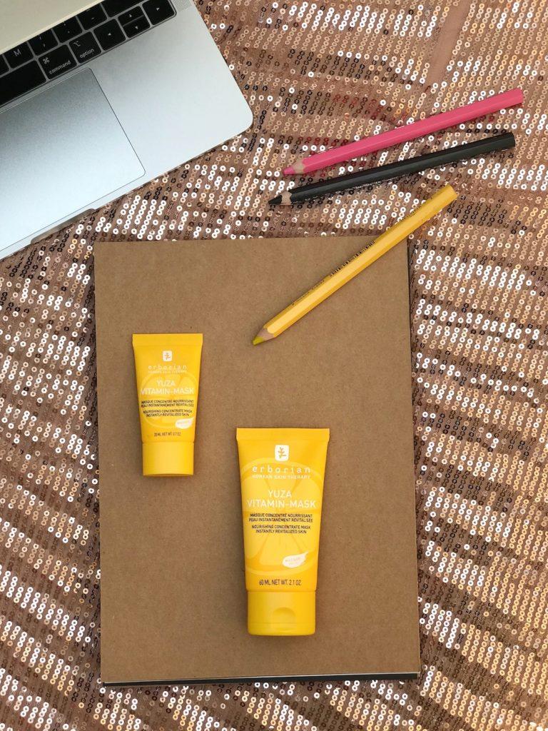 yuza maska korejska kozmetika erborian nega kreme nika veger beautyfull blog