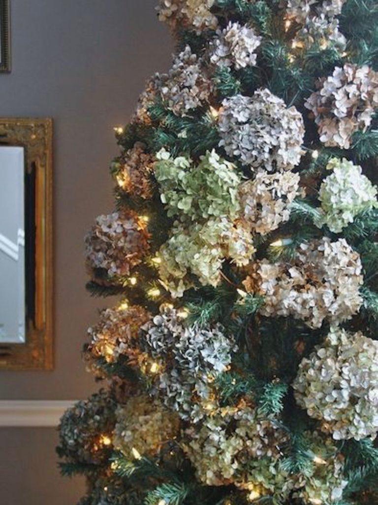 hortenzije bozic adventni vencki okrasevanje trend