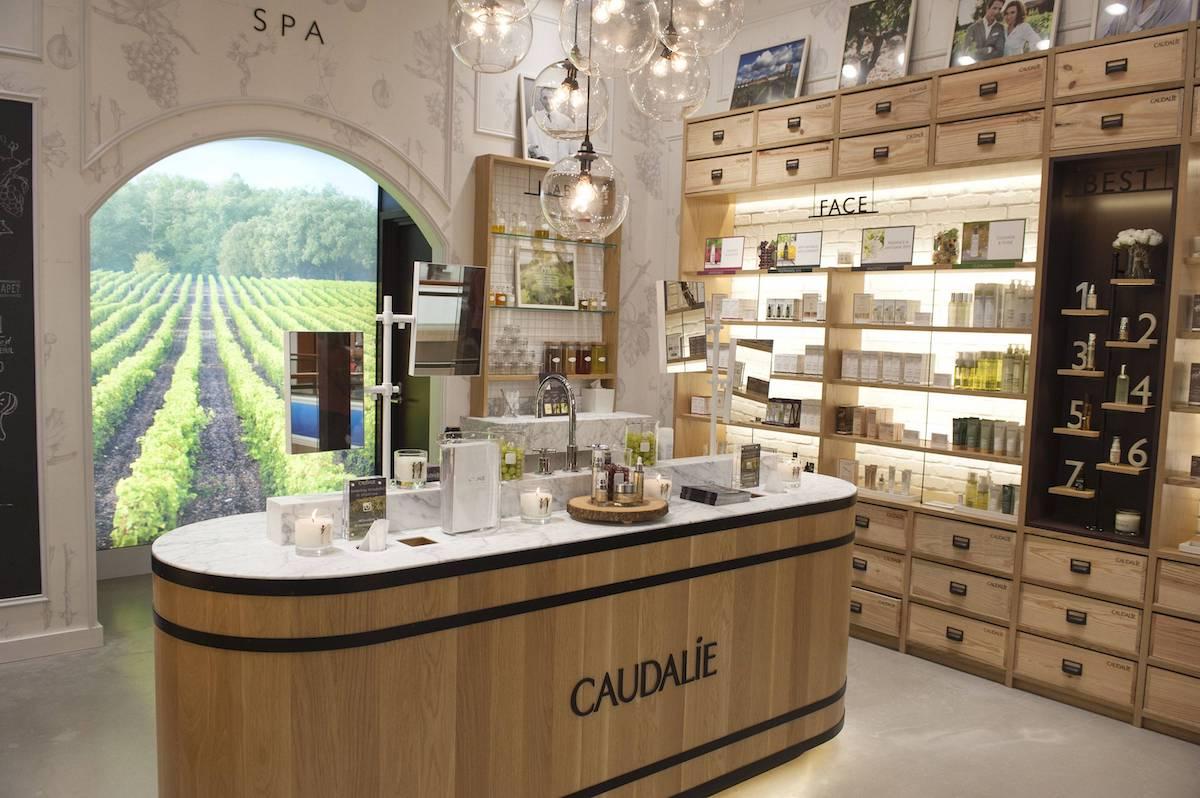 caudalie trajnostna luksuzna naravna znamka kozmetike butik