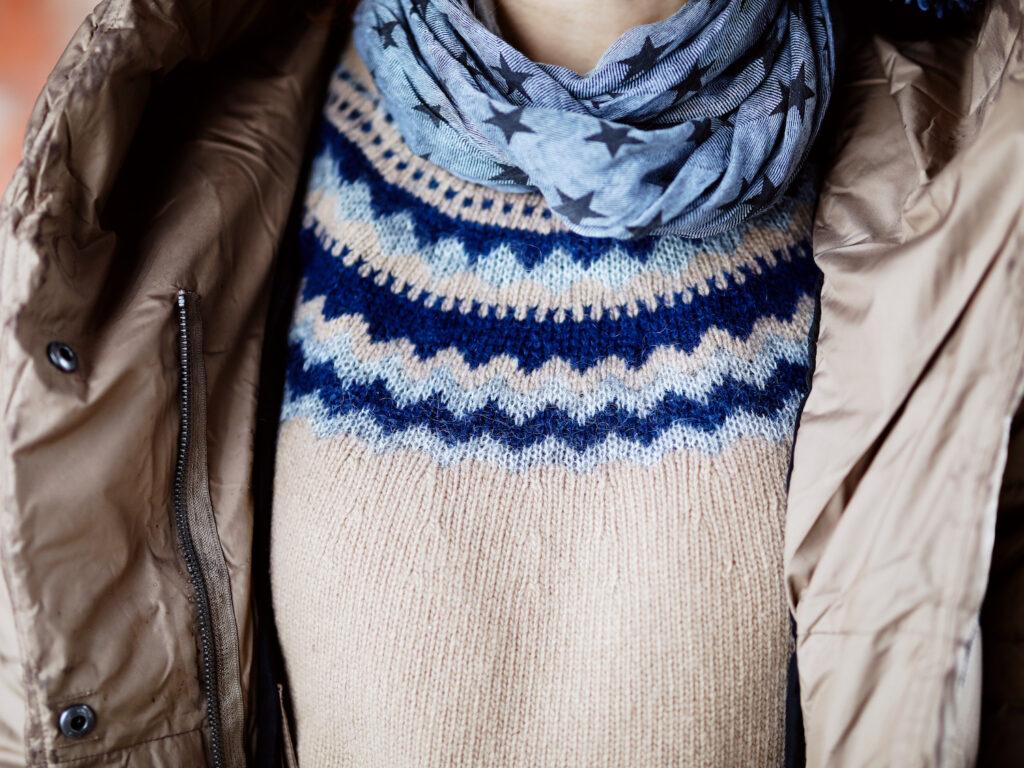 volnen pulover švedki vzorec trajnostna moda svedska didriksons stella nika veger beautyfull blog weekend max mara