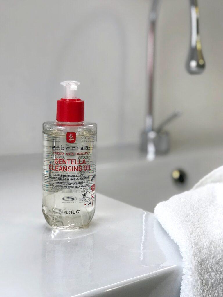 erborian čiščenje obraza dvojno centella olje gel nika veger beautyfull blog olje čistilno