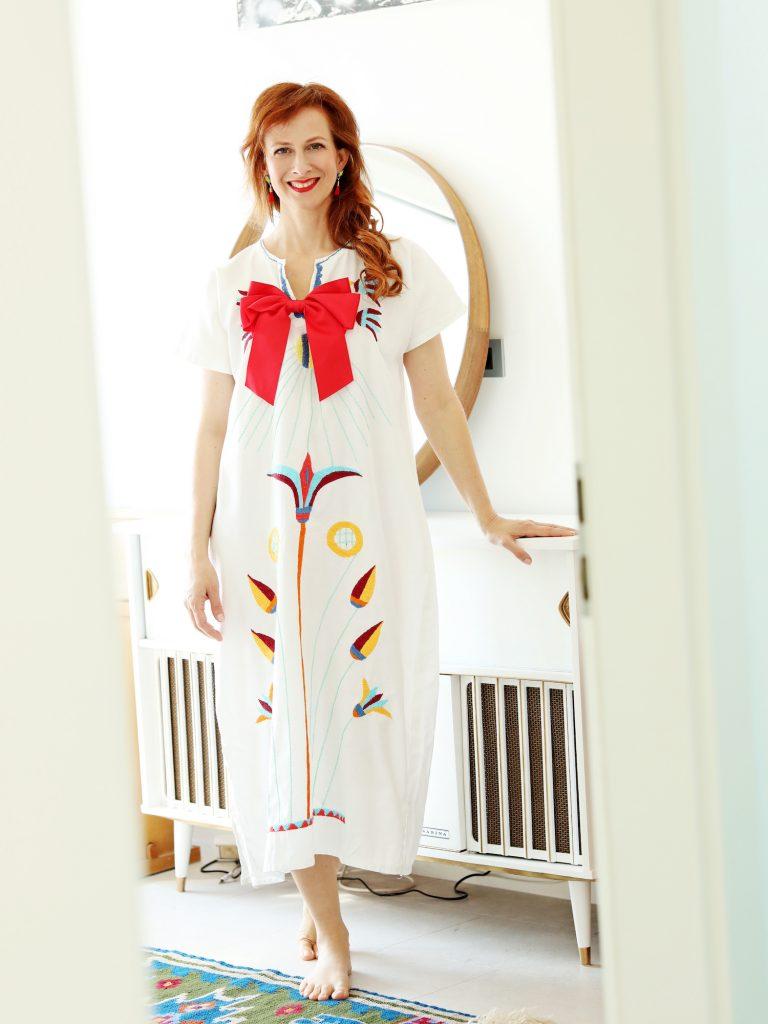 vintage obleka Nika Veger Elle beautyfull blog skrb nega oblacil