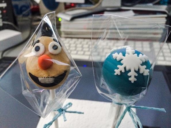 Beautyfullblog DIY bath popcake snezak Olaf present Frozen