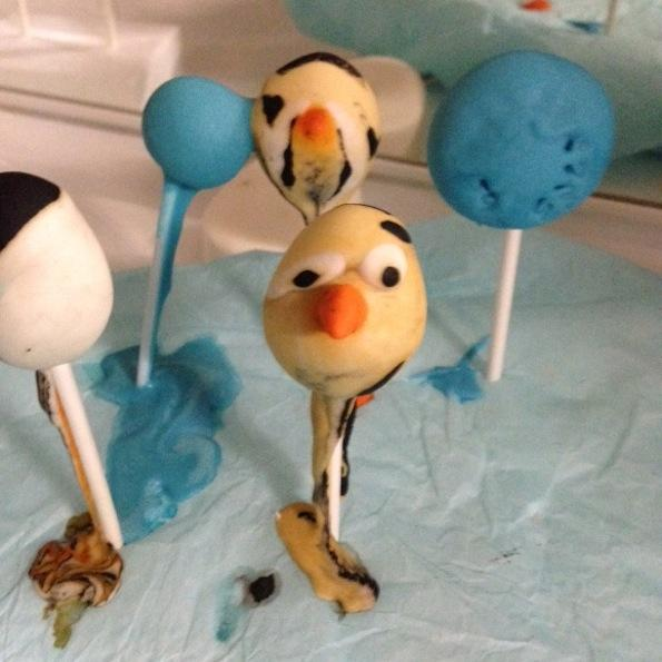 Beautyfullblog DIY bath popcakes snezak Olaf frozen melting