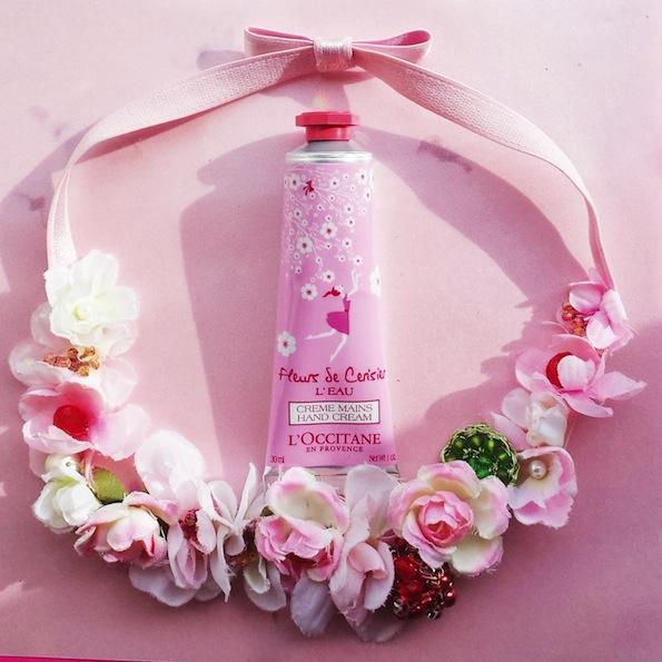 Beautyfullblog LOccitane FLEURS DE CERISIER L'EAU Hand Cream