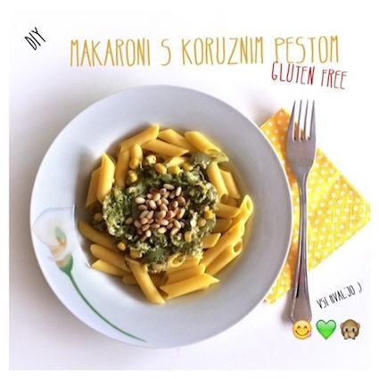 Beautyfullblog brez-glutena-koruzne-testenine-s-koruznim-pestom Schnekoppe