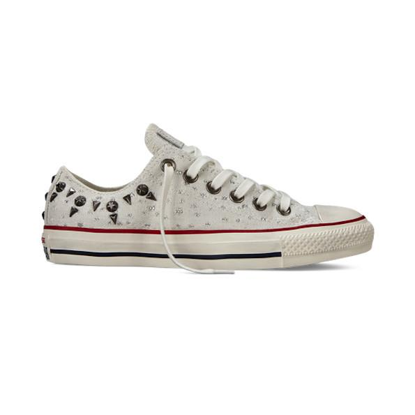 Converse Chuck Taylor All Star Studded Lurex, $60